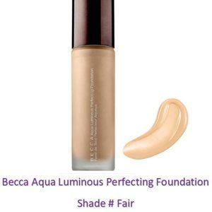 Becca Aqua Luminous Perfecting Foundation # Fair